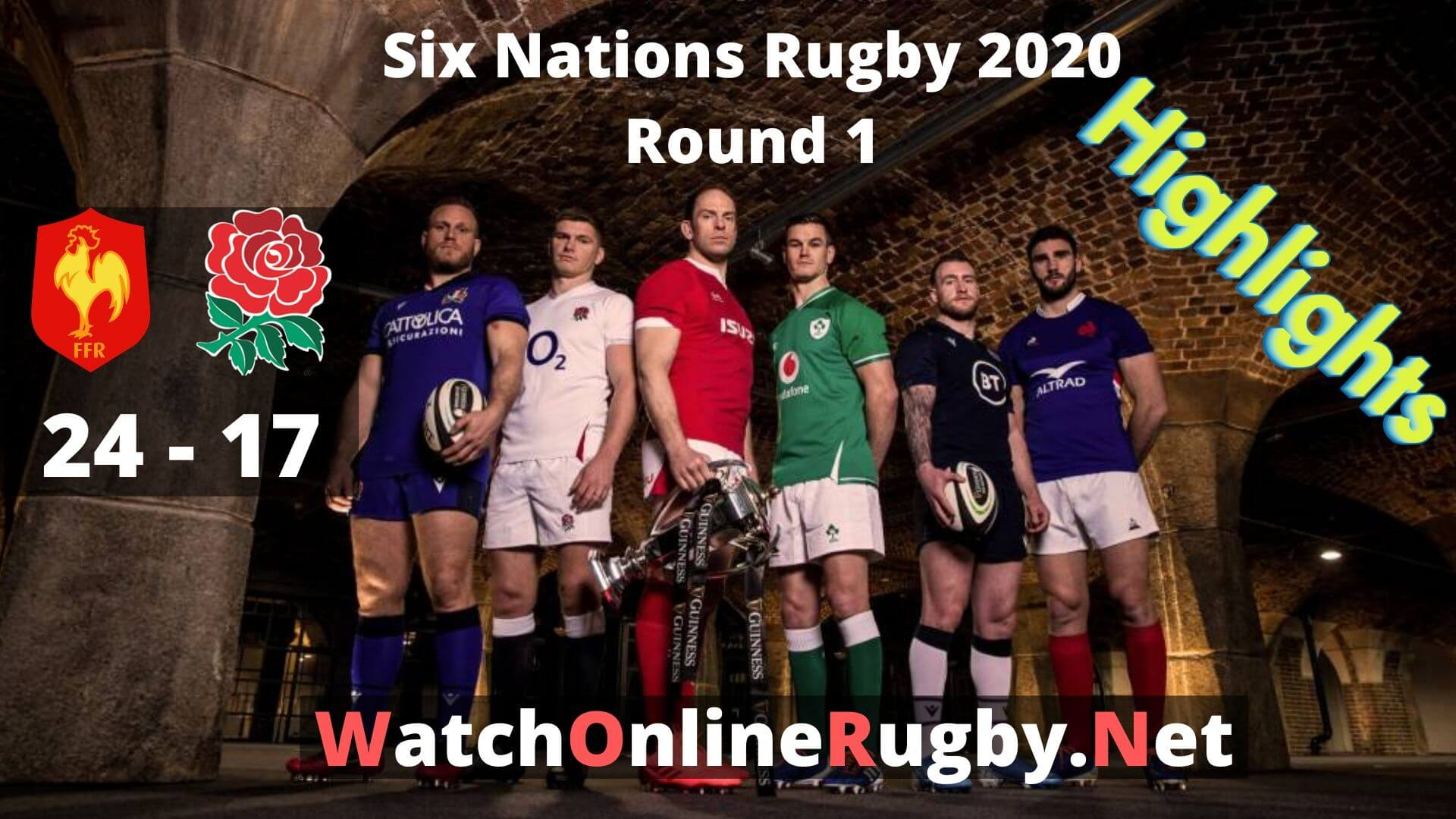 France Vs England 6 Nations Rugby 2020 Highlights Full Match Replay
