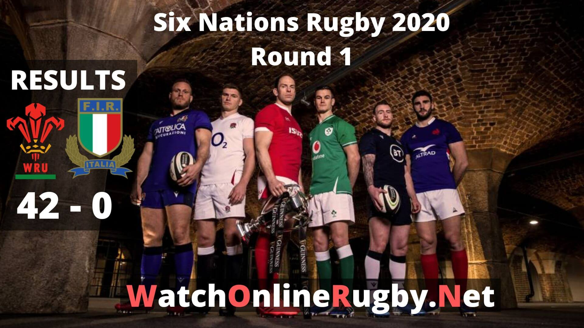 Italy Vs Wales 6 Nations Rugby 2020 Highlights Full Match Replay