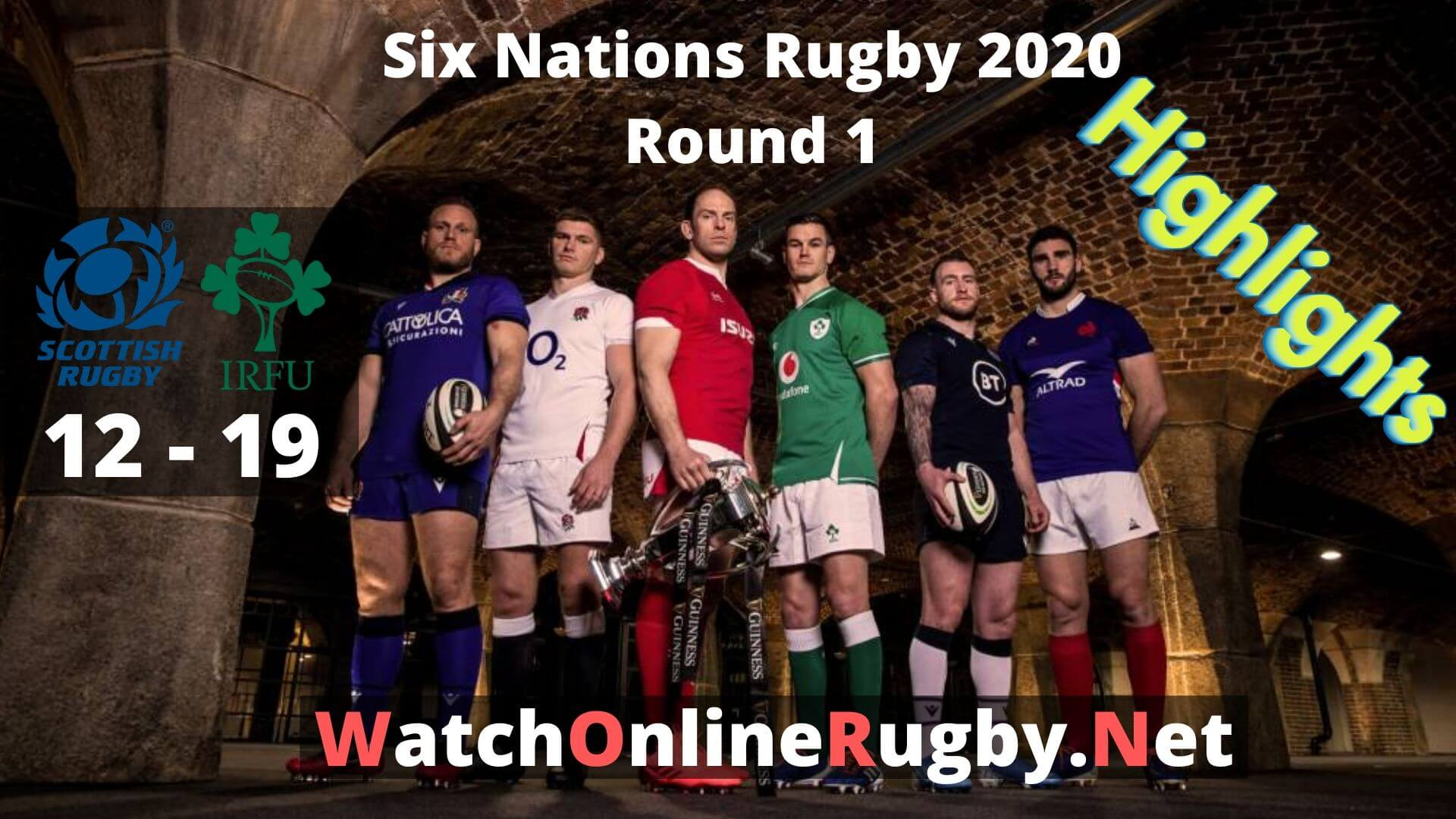 Scotland Vs Ireland 6 Nations Rugby 2020 Highlights Full Match Replay