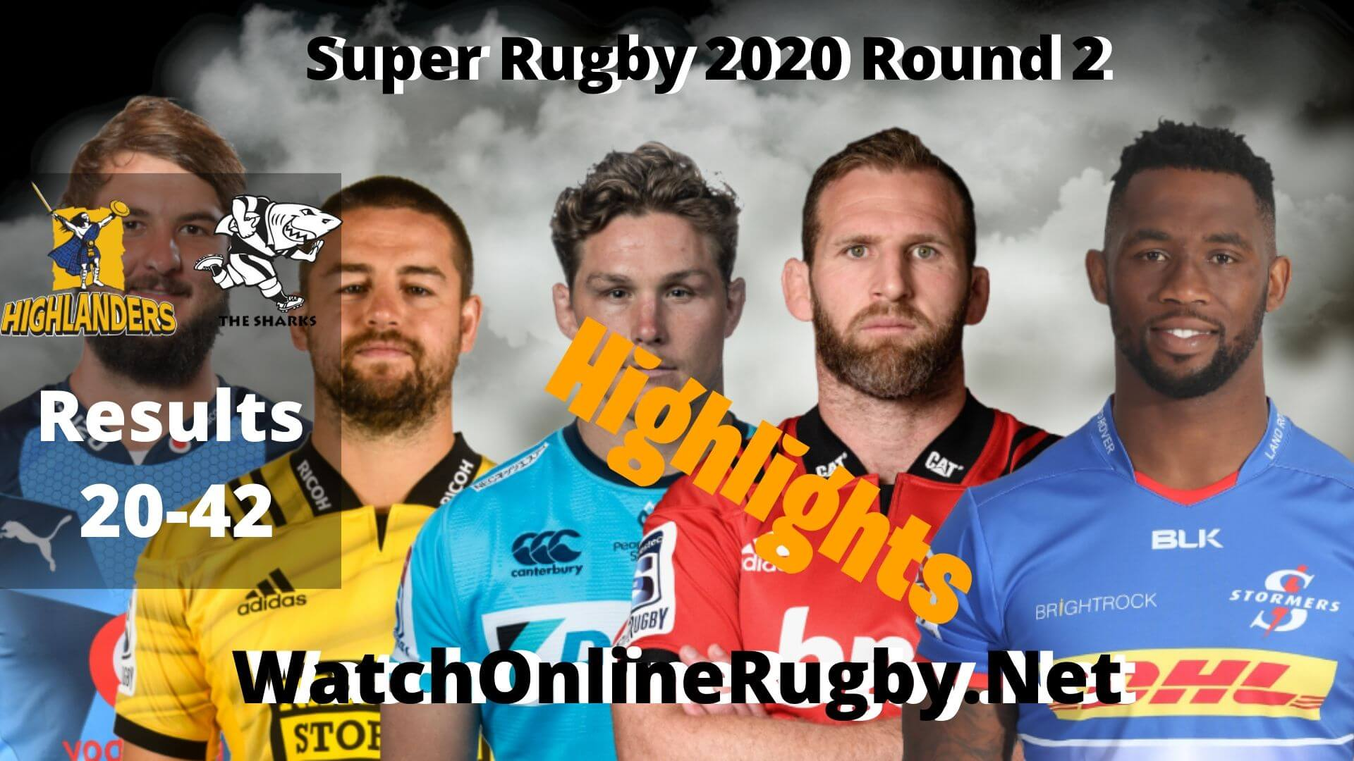 Highlanders Vs Sharks Highlights Super Rugby 2020 Round 2