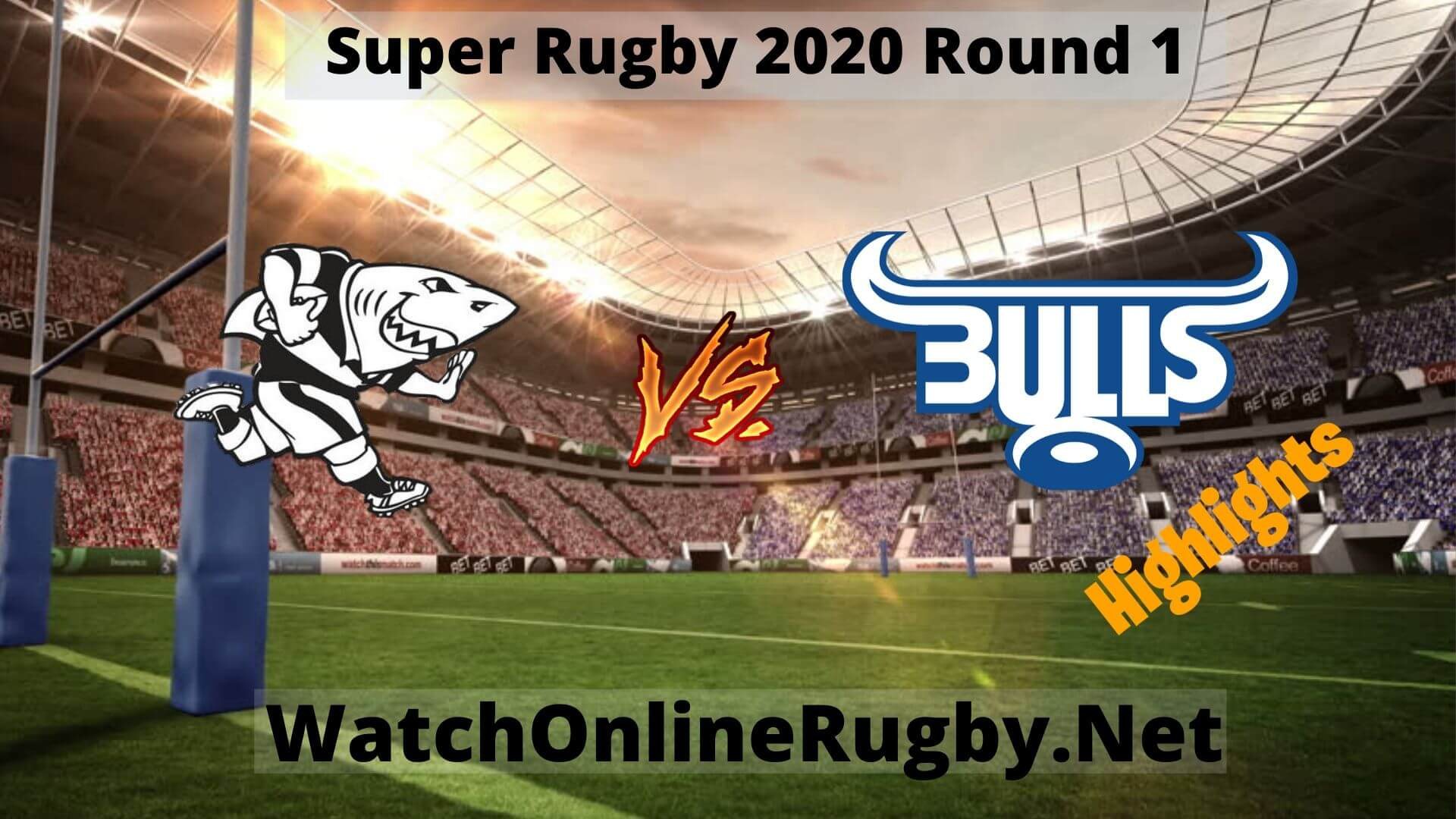 Sharks vs Bulls Highlights Super Rugby 2020 Round 1