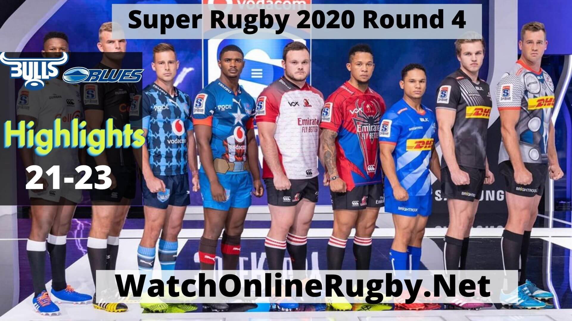 Bulls Vs Blues Result Highlights 2020 Super Rugby Rd 4