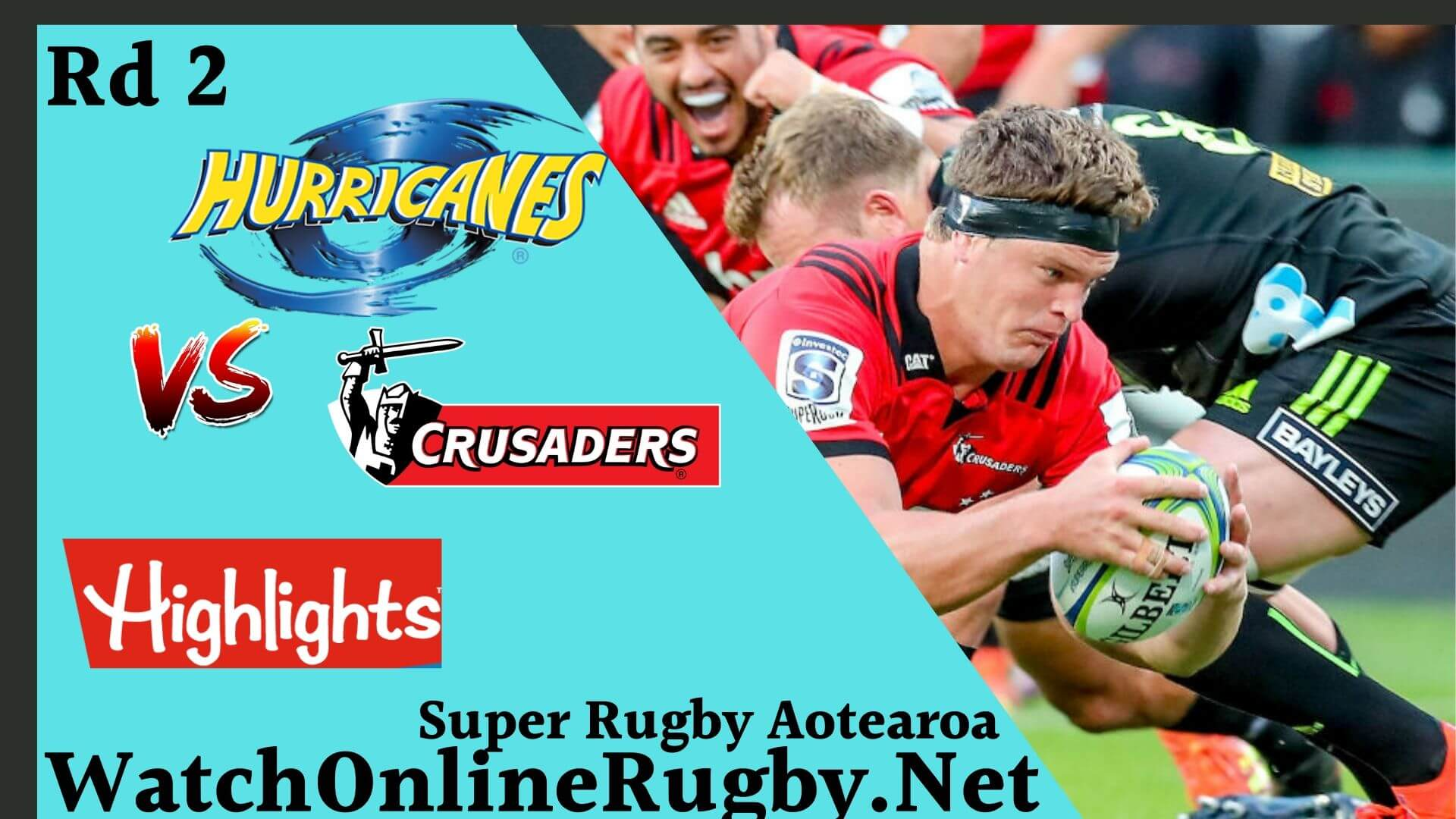 Crusaders Vs Hurricanes Highlights Rd 2 Super Rugby Aotearoa