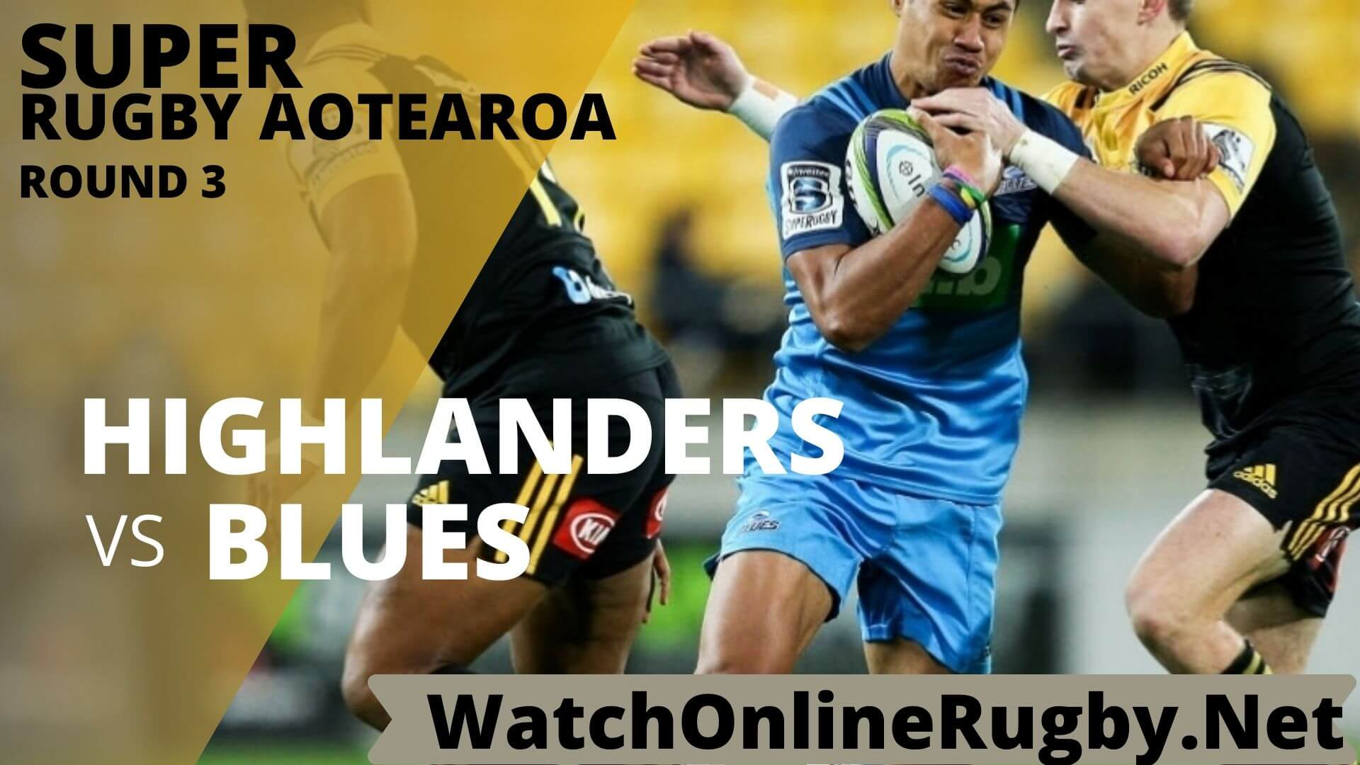 Highlanders Vs Blues Highlights Rd 3 Super Rugby Aotearao