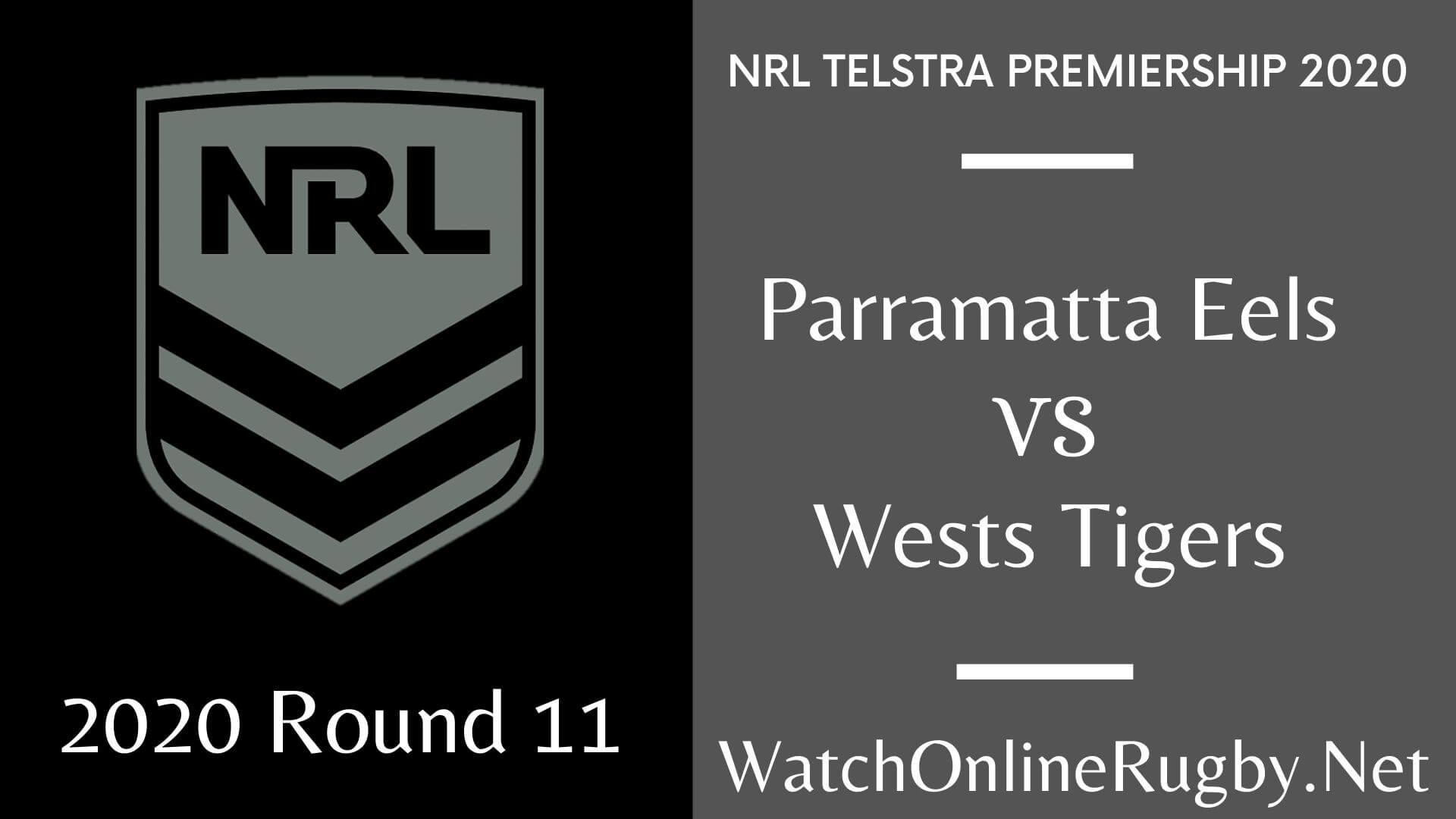 Eels Vs Wests Tiger Highlights 2020 Round 11 Nrl Rugby