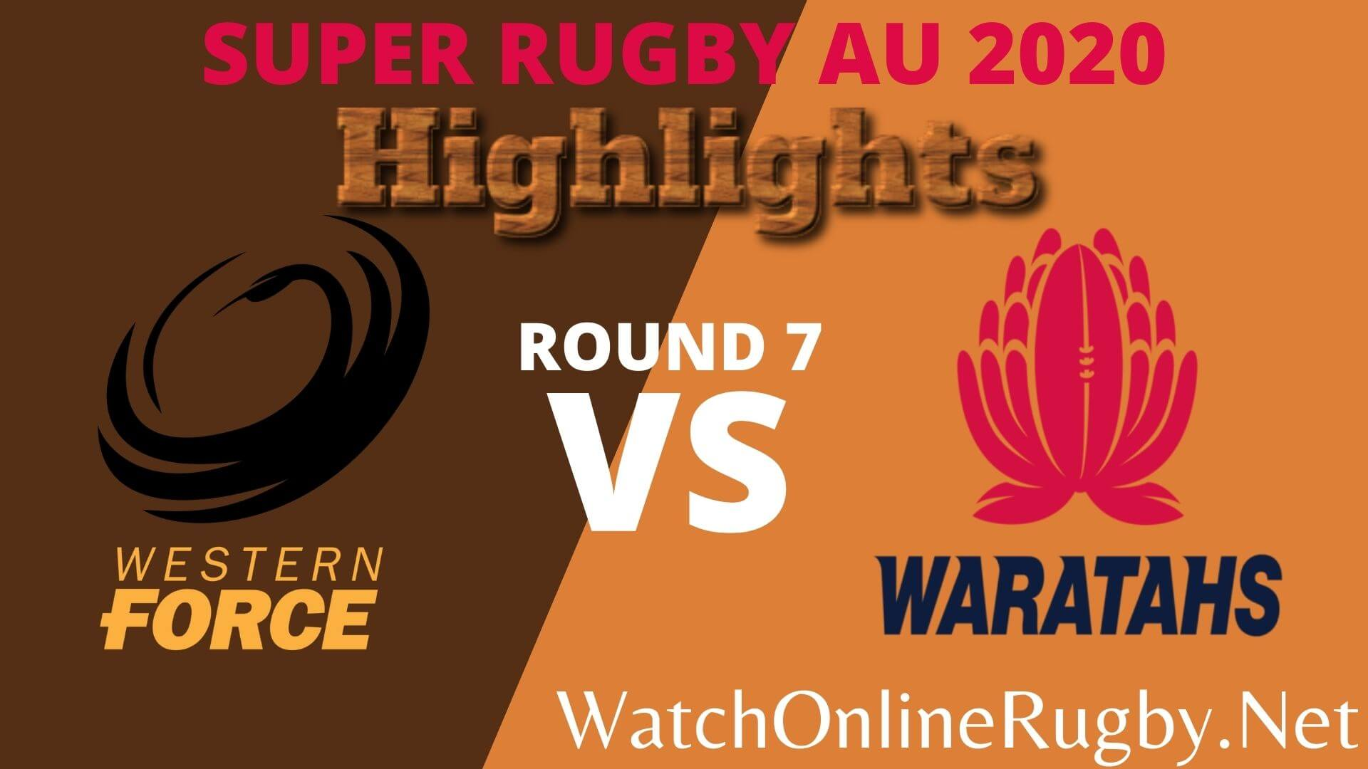 Western Force Vs Waratahs Highlights 2020 Rd 7 Super Rugby Au