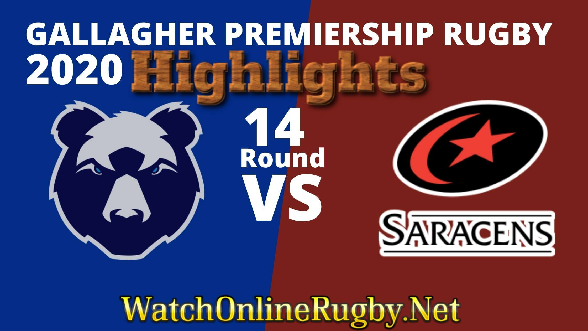 Bristol Bears Vs Saracens Highlights 2020 Rd 14 Premiership Rugby
