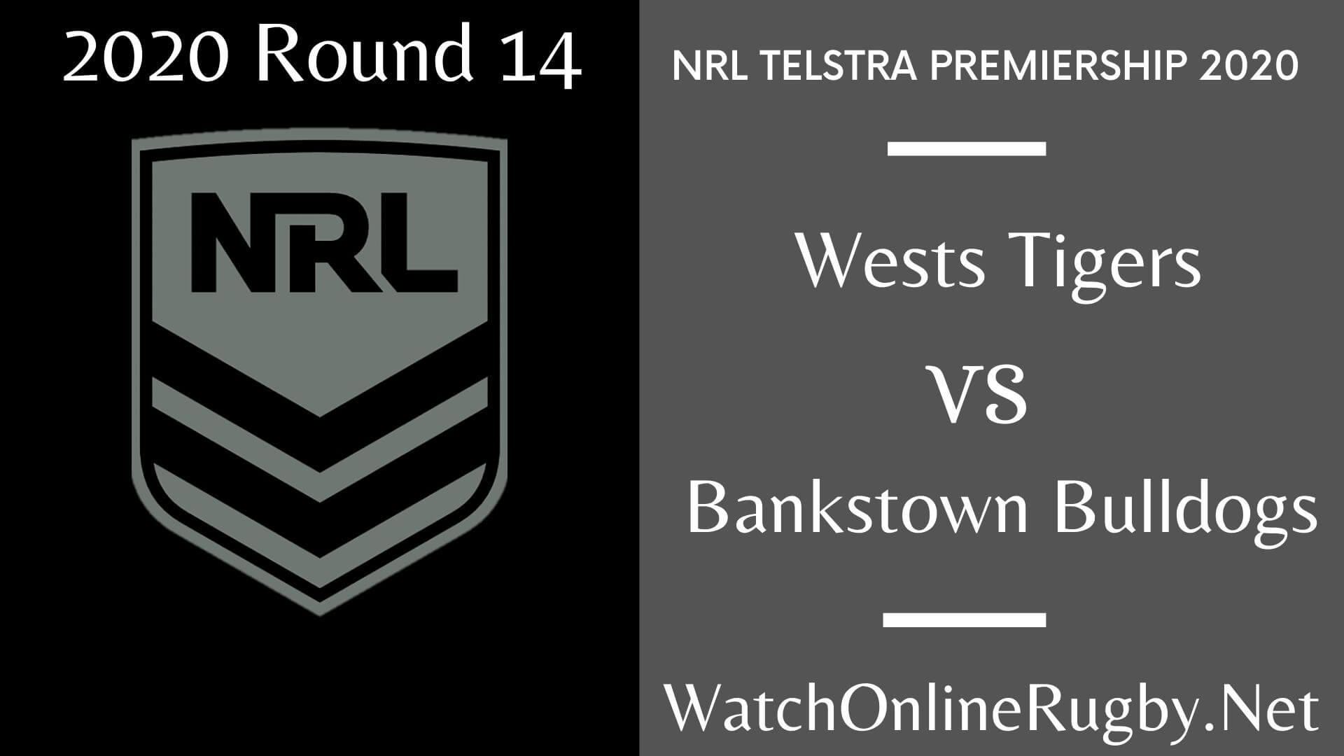 Wests Tigers Vs Bankstown Bulldogs Highlights 2020 Round 14 NRL Rugby