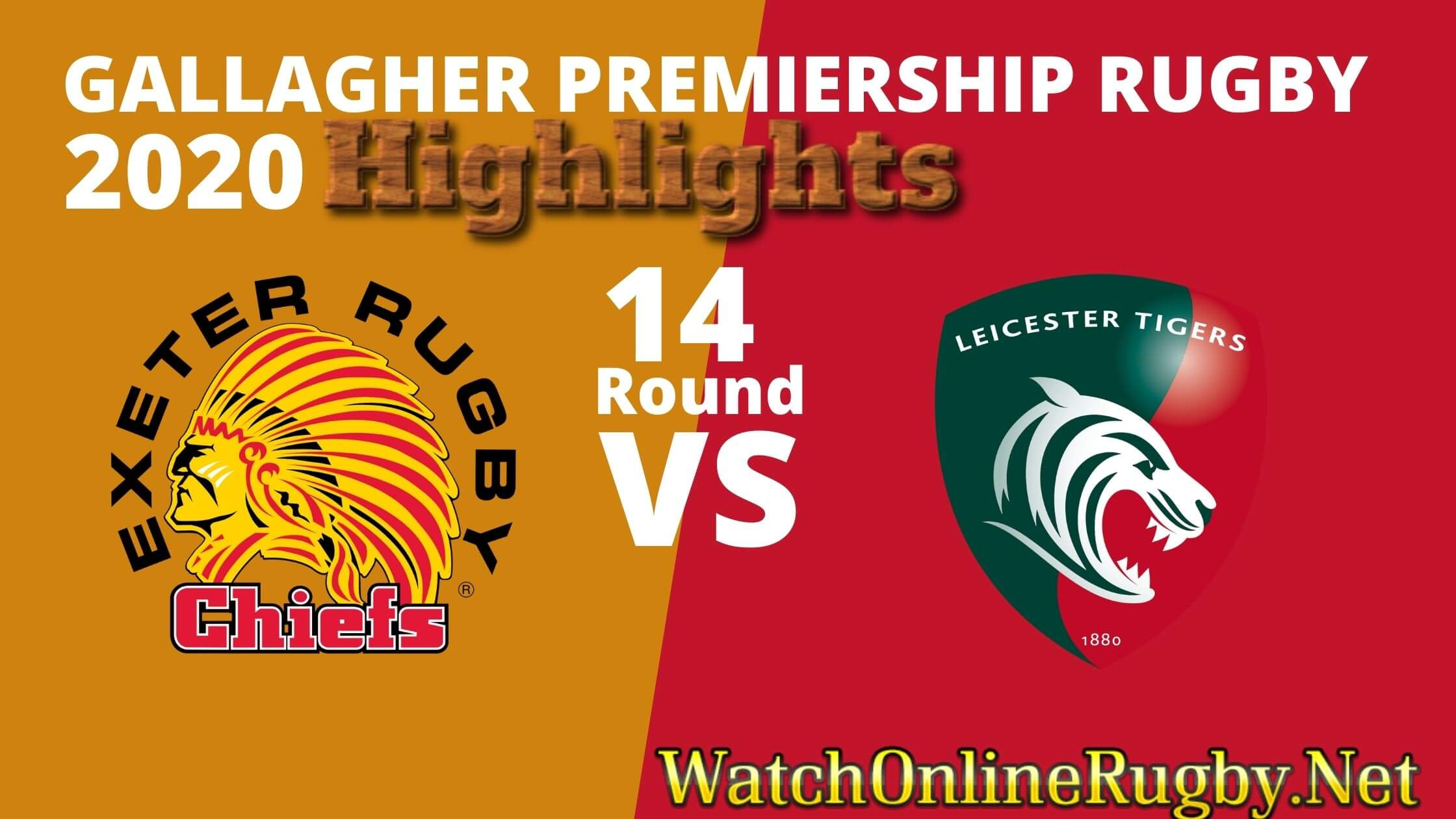 Exeter Chiefs Vs Leicester Tigers Highlights 2020 Rd 14 Premiership Rugby