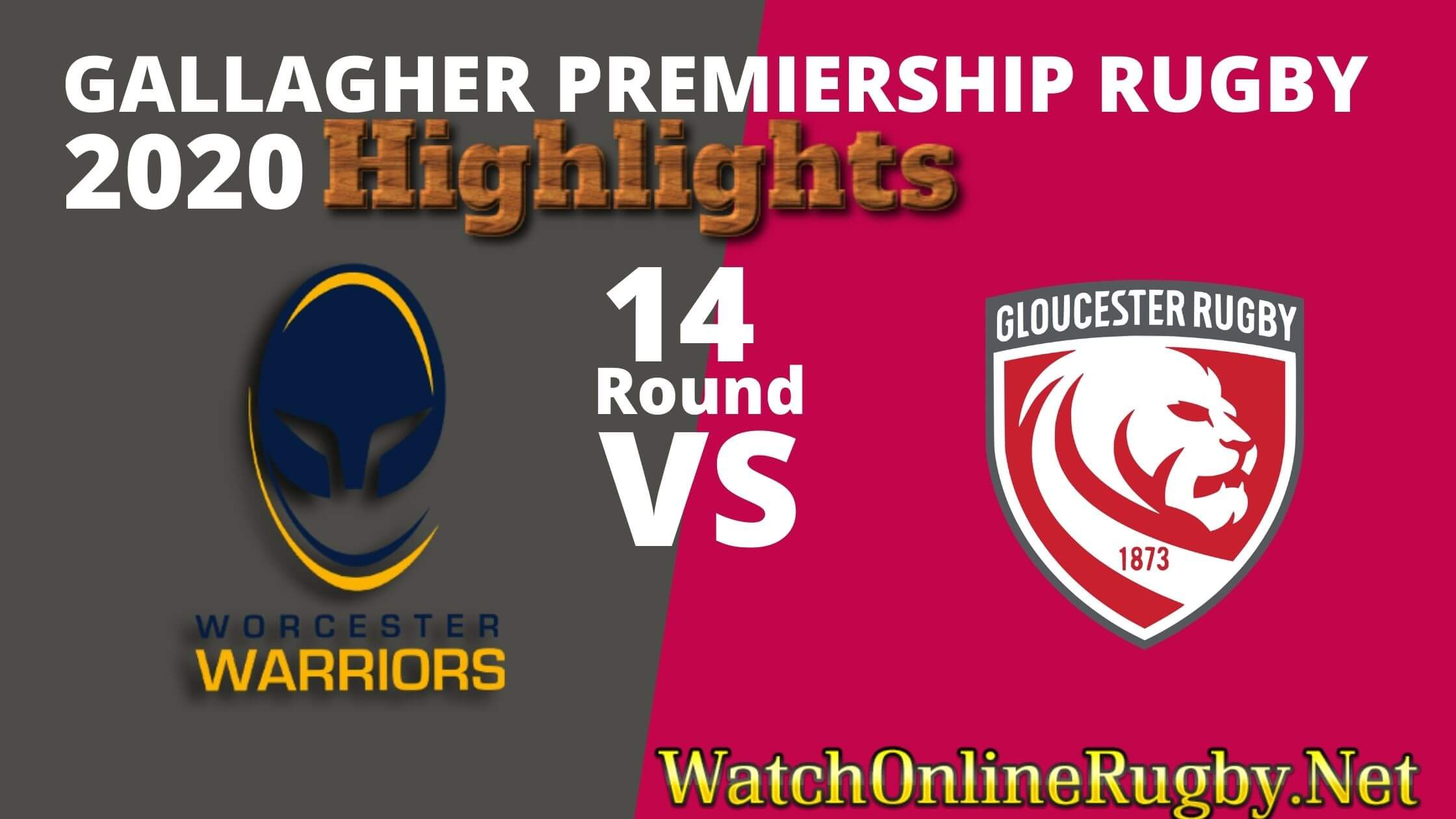 Worcester Warrior Vs Gloucester Rugby Highlights 2020 Rd 14 Premiership Rugby