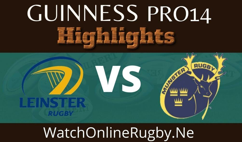 Leinster Vs Munster Highlights 2020 Rd 14