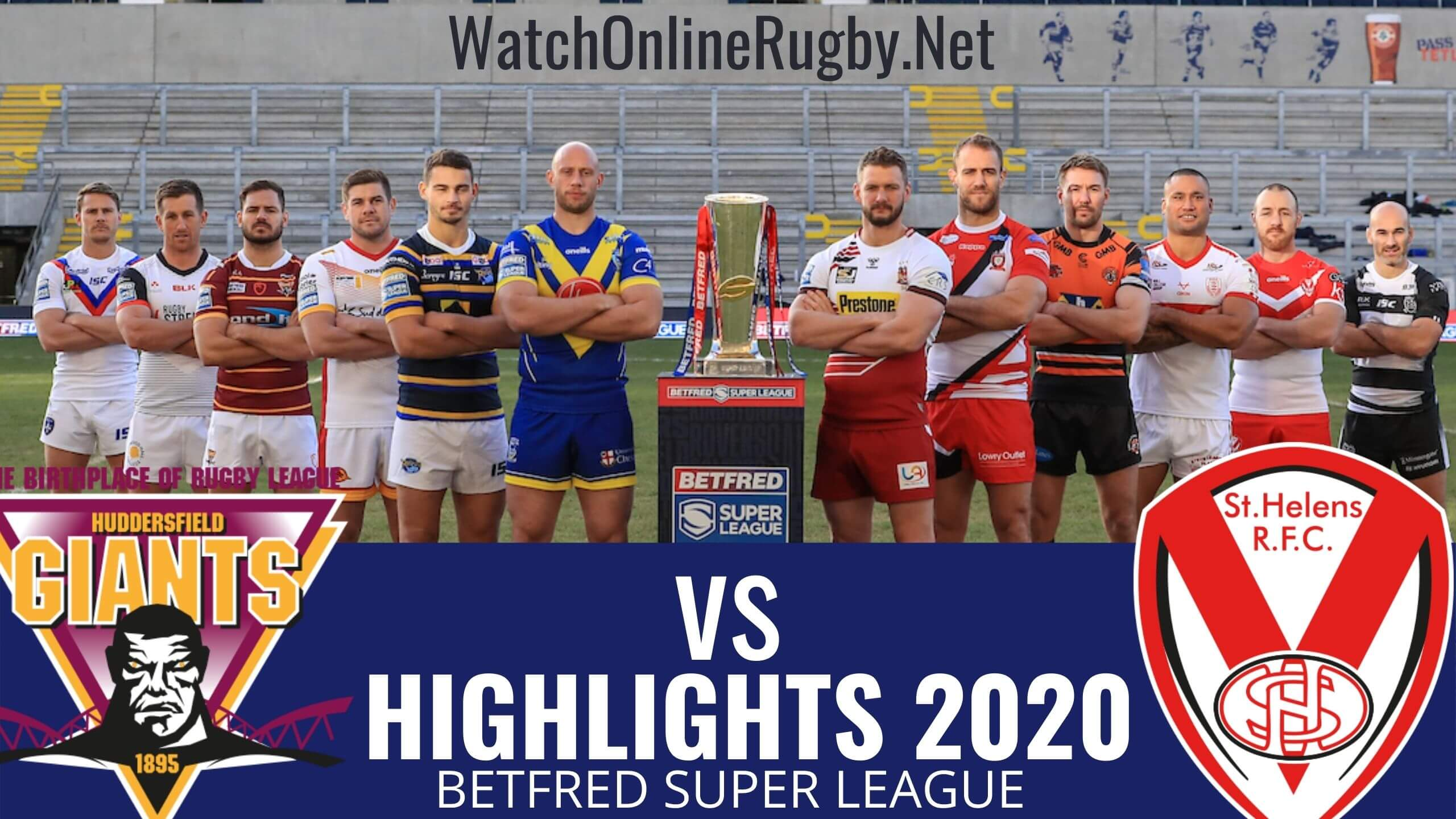 Giants Vs St Helens Highlights 2020 Rd 11