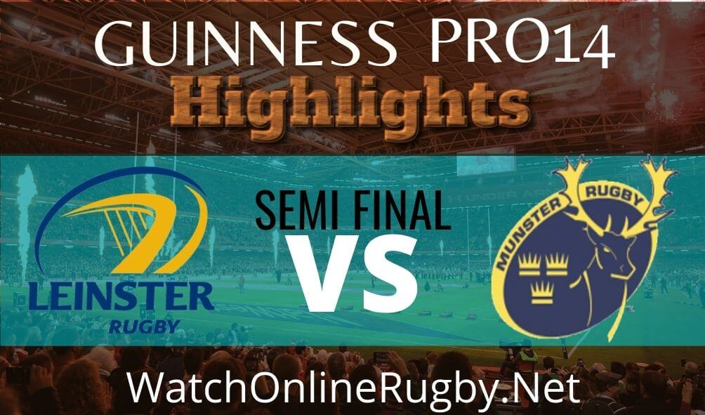 Leinster vs Munster Semi Final Highlights 2020