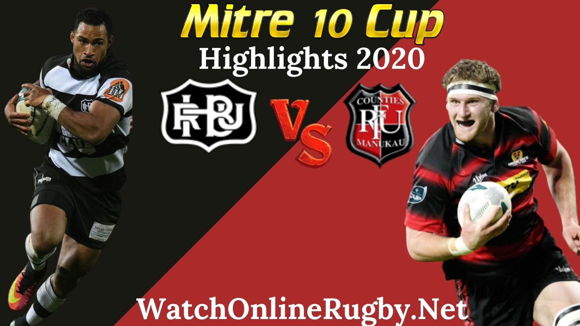 Hawkes Bay vs Counties Manukau RD 2 Highlights 2020 M10 Cup