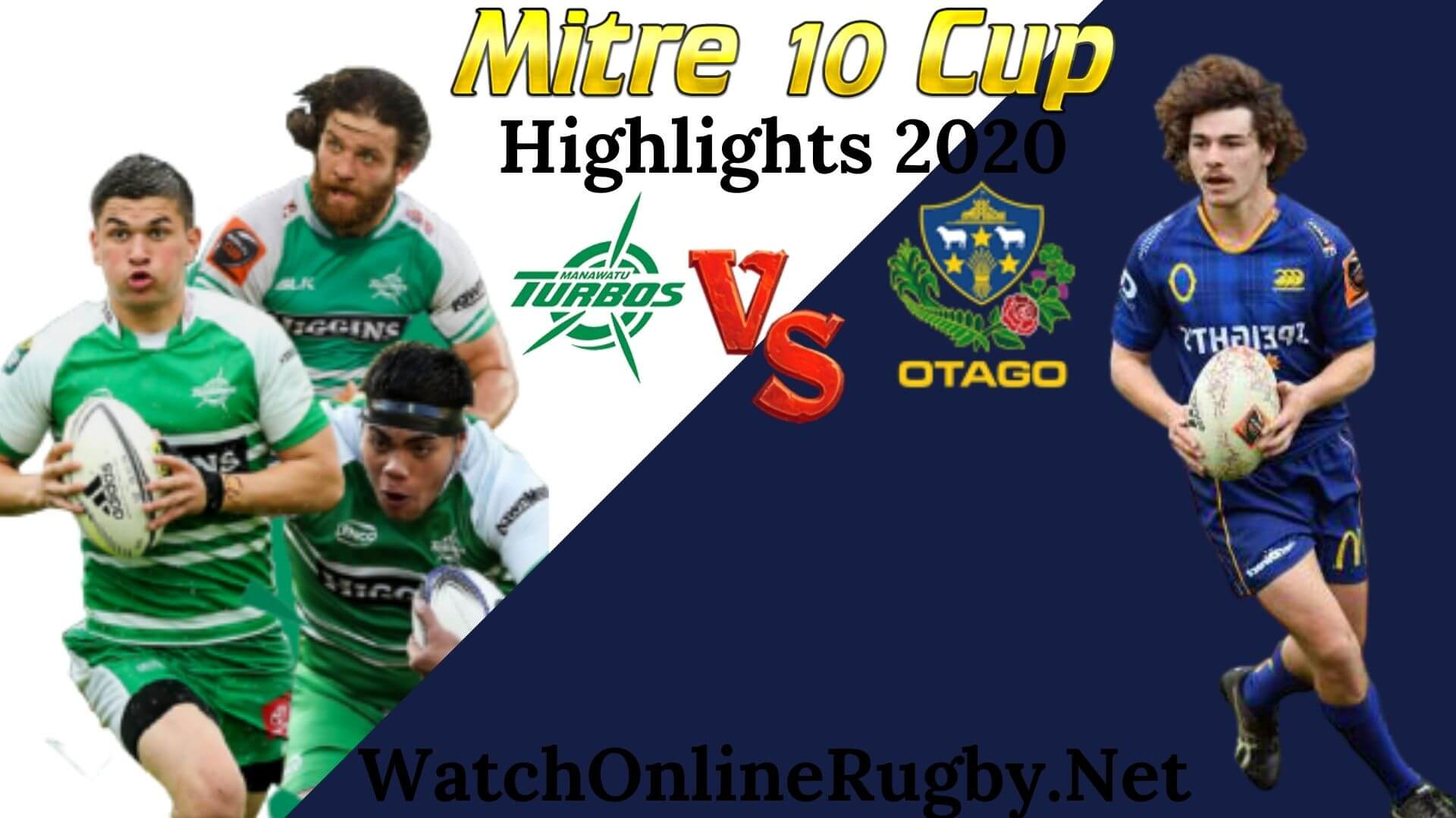 Manawatu vs Otago RD 2 Highlights 2020 M10 Cup