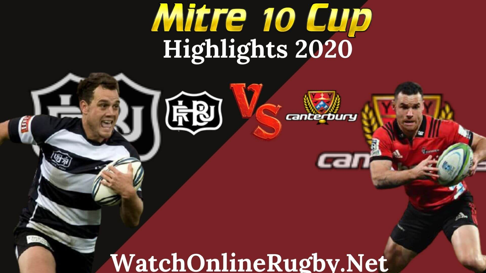 Hawkes Bay vs Canterbury RD 3 Highlights 2020 M10 Cup
