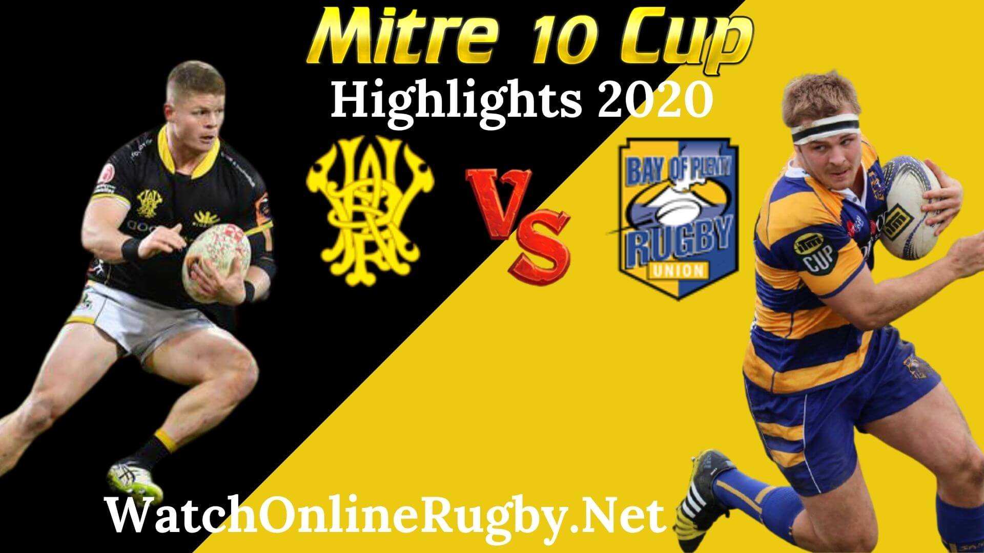 Wellington vs Bay of Plenty RD 3 Highlights 2020 M10 Cup