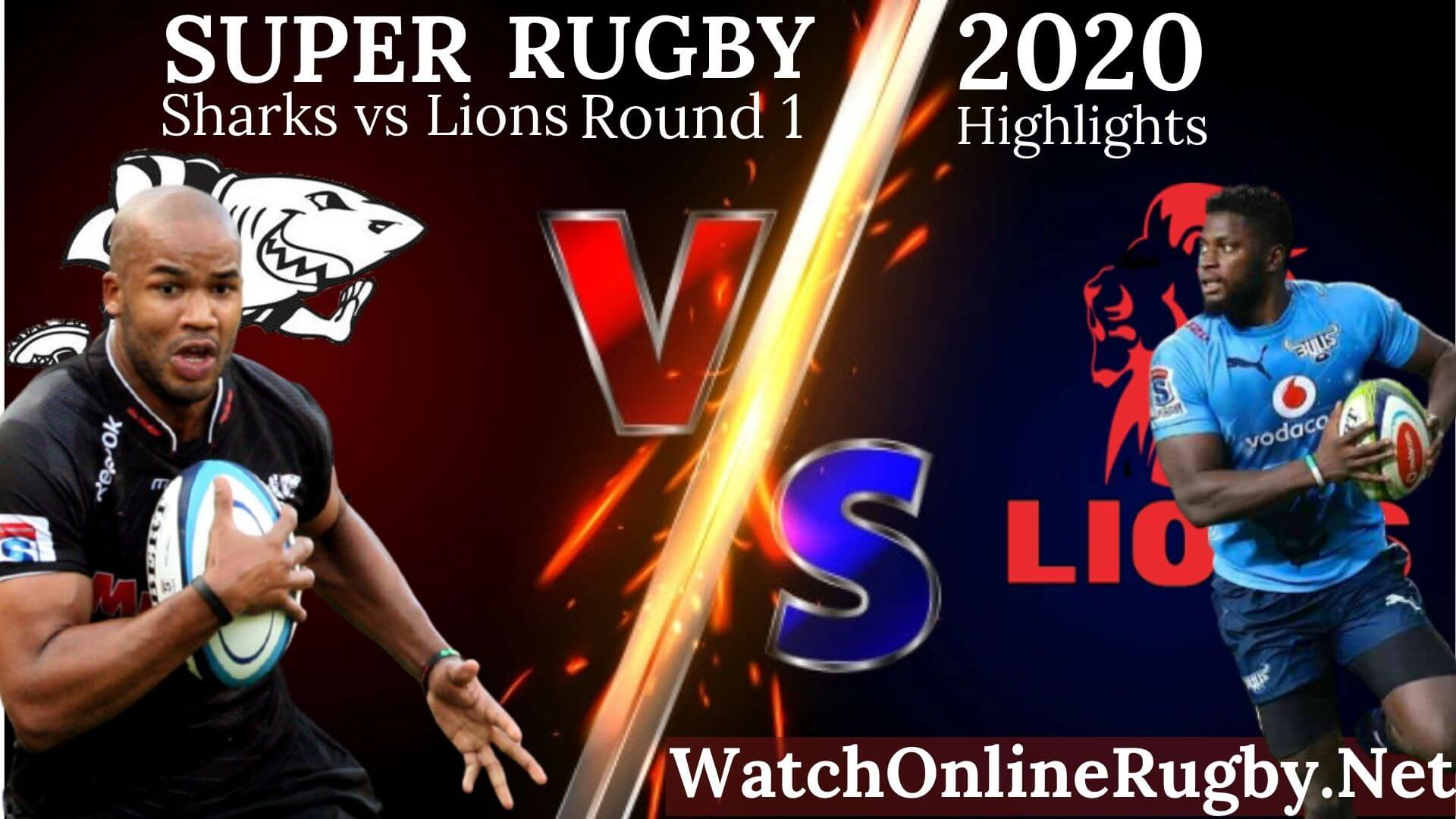 Sharks VS Lions Highlights 2020 Super Rugby Unlocked