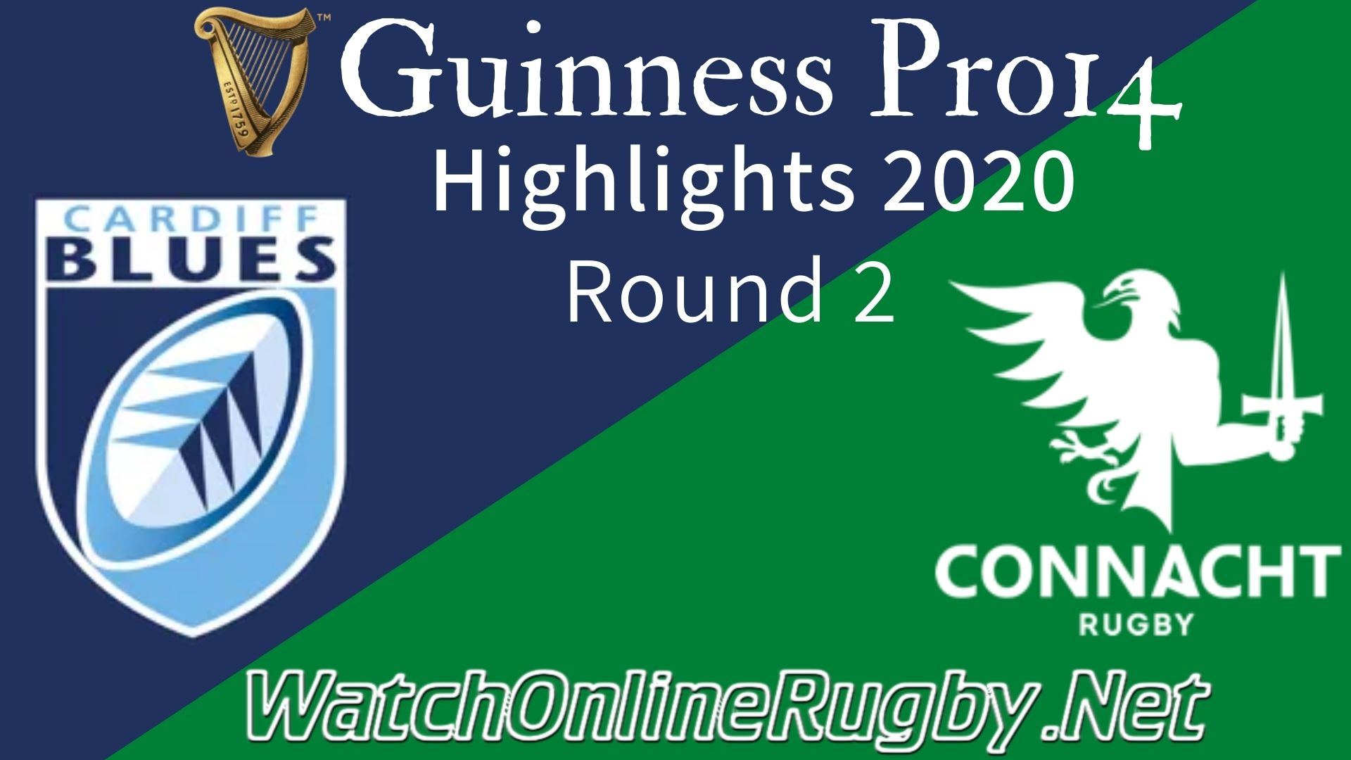 Cardiff Blues vs Connacht RD 2 Highlights 2020