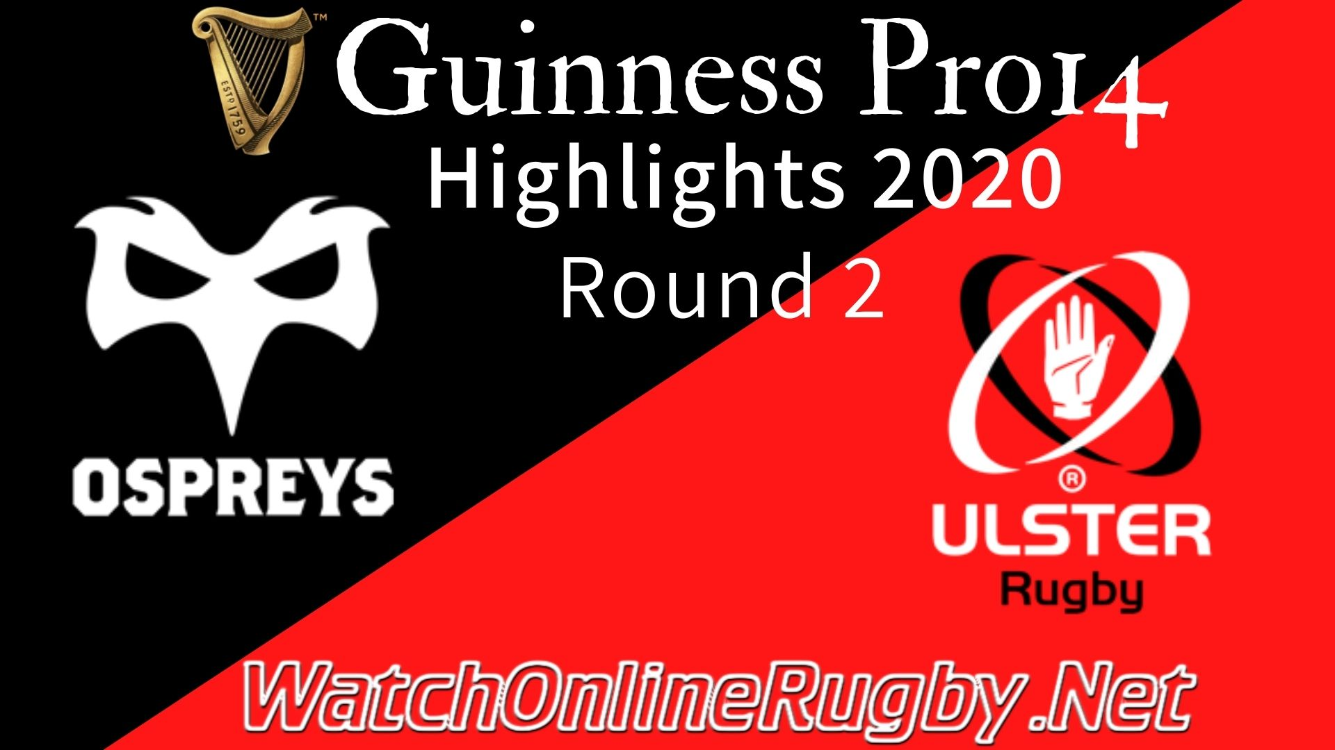 Ospreys vs Ulster RD 2 Highlights 2020