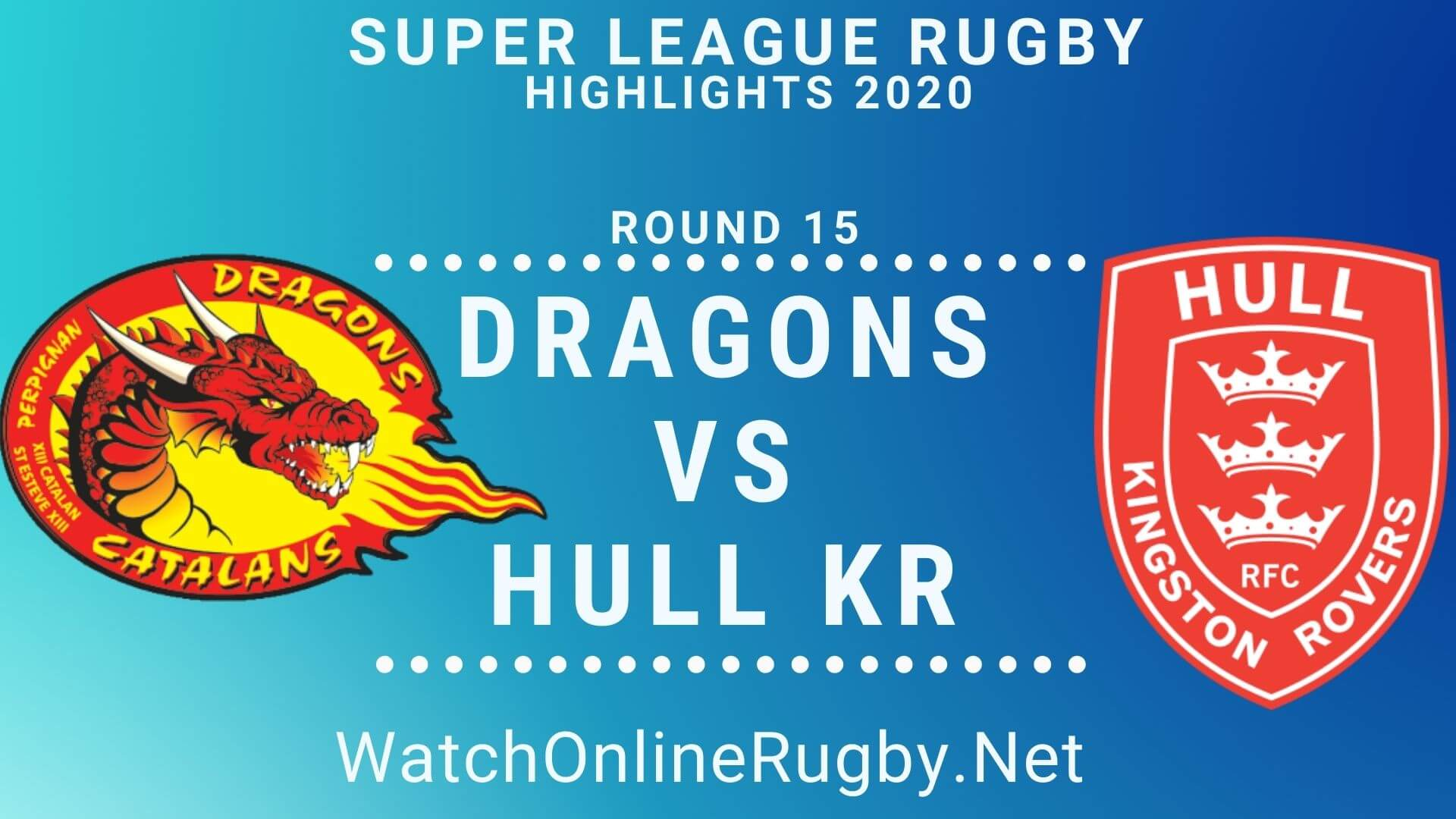 Catalans Dragons vs Hull KR Highlights 2020