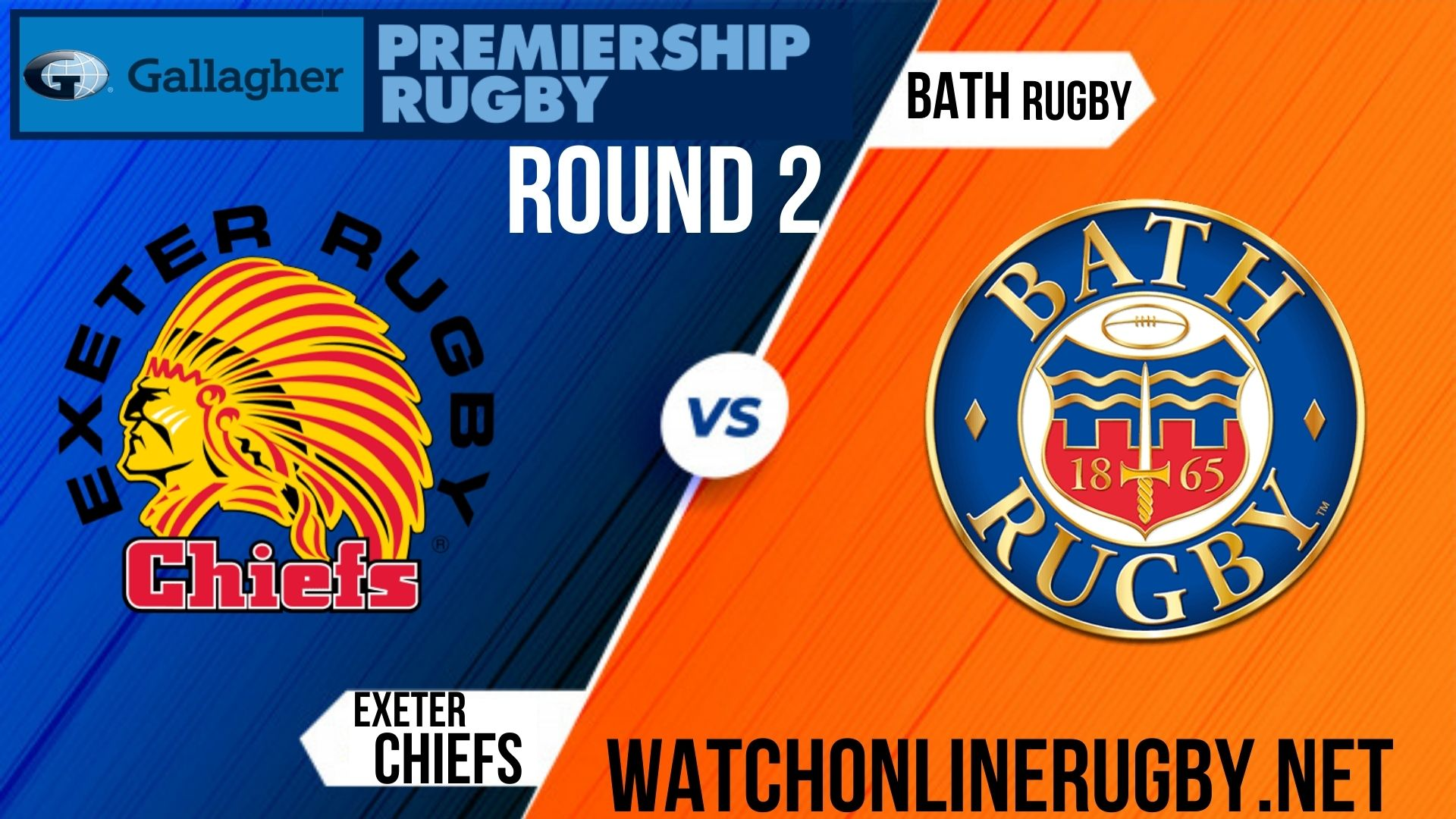 Exeter Chiefs vs Bath Rugby Premiership Rugby 2020 RD 2