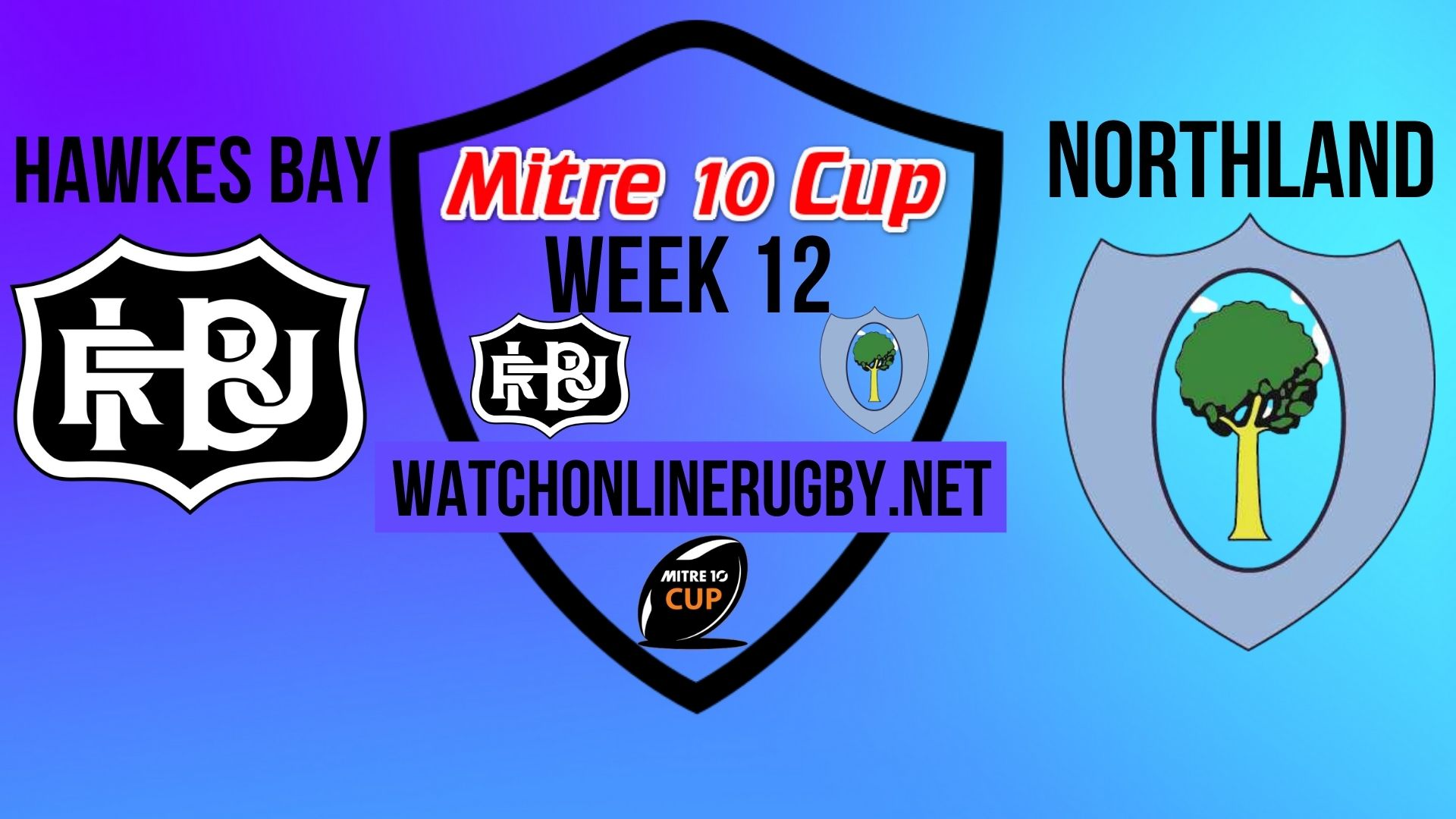 Hawkes Bay vs Northland Mitre 10 Cup 2020 Week 12