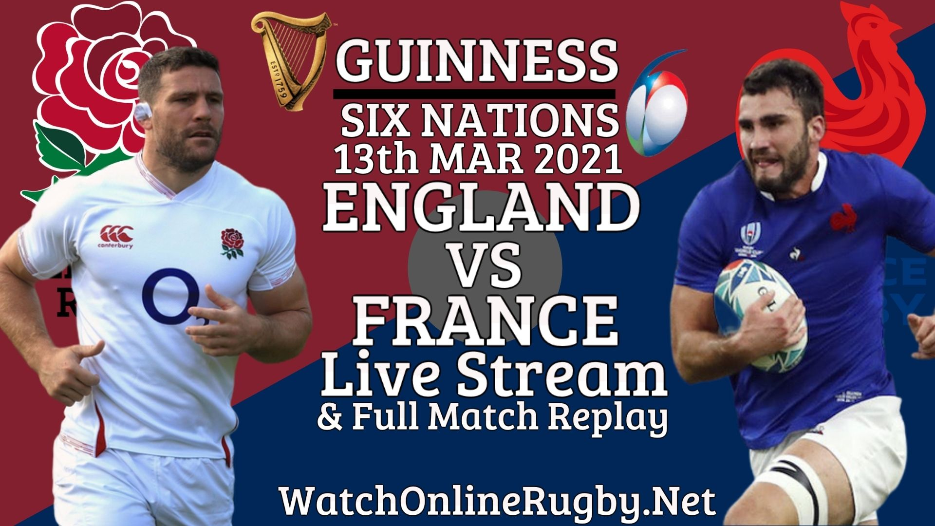 England vs France 2021 Live Stream RD 4 | Six Nations Full Match Replay