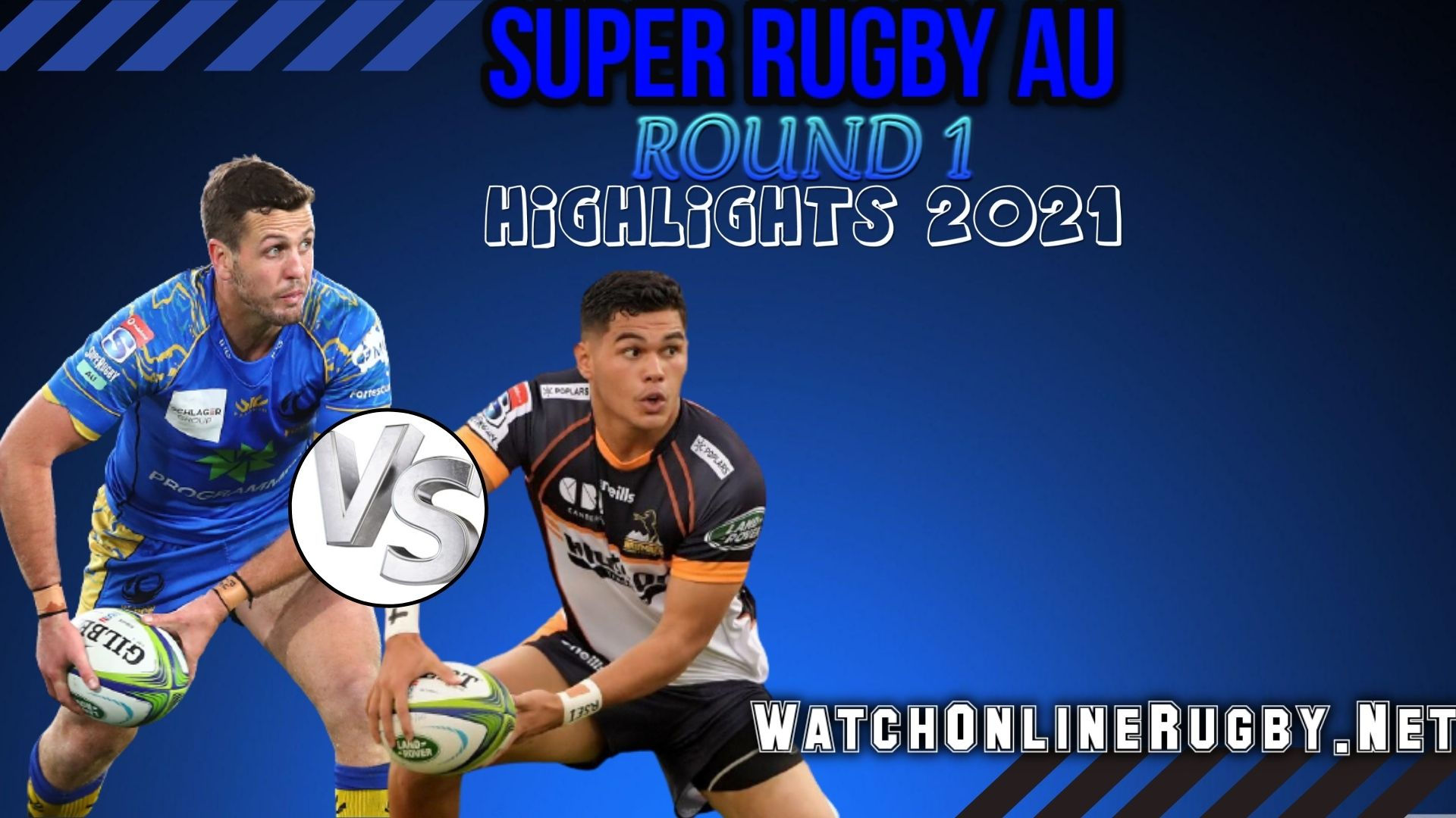 Western Force Vs Brumbies Super Rugby AU 2021 RD 1