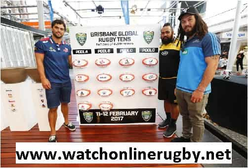 Brisbane Global Rugby Tens streaming live