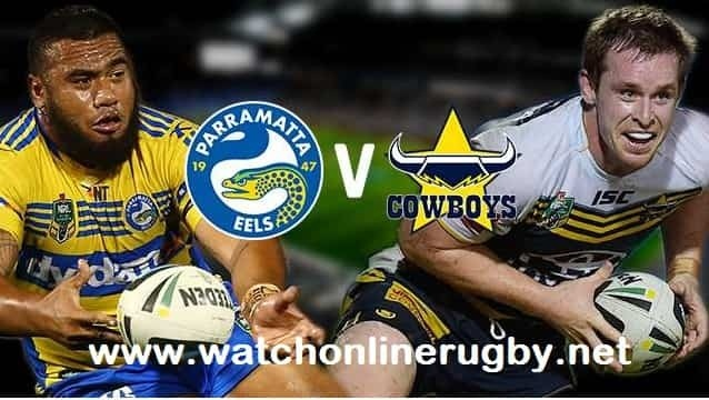 North Queensland Cowboys vs Parramatta Eels live