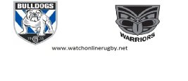 Bulldogs VS Warriors Live Streaming