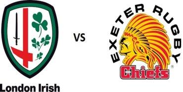 London Irish VS Exeter Chiefs Aviva Live