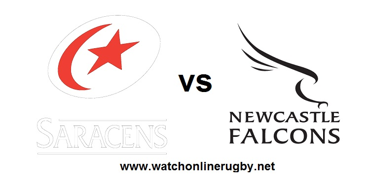 Newcastle Falcons VS Saracens Live Streaming