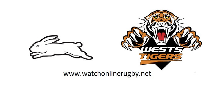 Rabbitohs VS Wests Tigers Live Stream