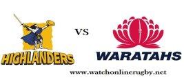Waratahs VS Highlanders Quarterfinal Rugby Live