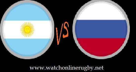 Russia vs Argentina XV