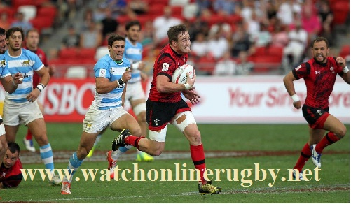 Argentina 7s vs Wales 7s live stream