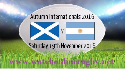 Argentina vs Scotland LIVE