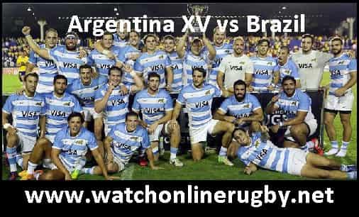 Argentina XV vs Brazil live