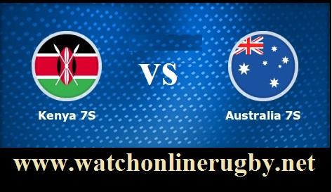 Australia 7s vs Kenya 7s live