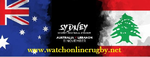 Australia vs Lebanon