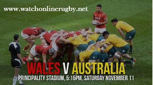 Australia vs Wales