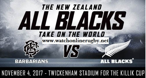 Barbarians vs New Zealand