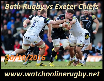 Bath Rugby vs Exeter Chiefs