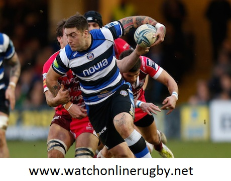 Bath vs Newcastle Falcons Rugby Live