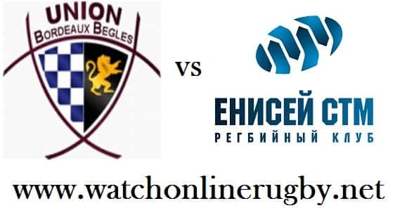 Bordeaux Begles vs RC Enisei