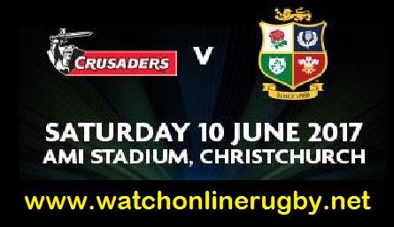 British and Irish Lions vs Crusaders live