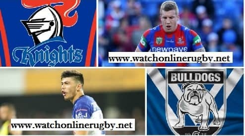Bulldogs vs Newcastle Knights live