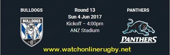 Bulldogs vs Penrith Panthers live